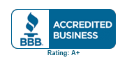 Auburn Moving & Storage is accredited by the BBB, with an A+ rating.