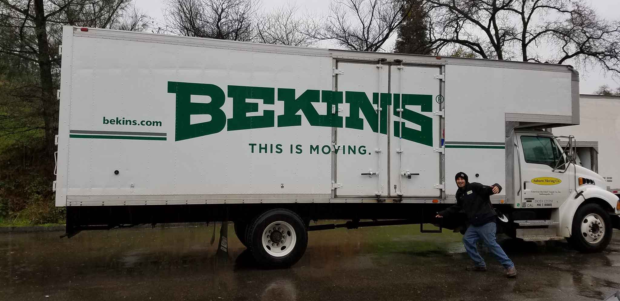 Our Auburn movers are Bekins Van Lines agents