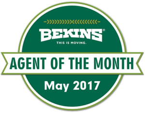 bekins moving agent of the month